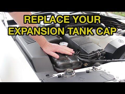 PSA- Replace The Coolant Expansion Tank Cap On Your Mercedes