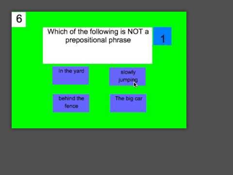 Alices GameSalad Quiz