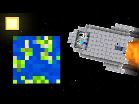 HOW TO BUILD A WORKING SPACESHIP IN MINECRAFT!!