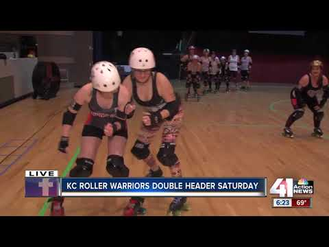 KC Roller Warriors skate double header on Saturday