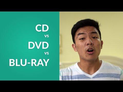 CD vs DVD vs Blu-Ray