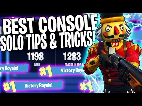 HOW TO GET MORE SOLO WINS IN FORTNITE!  