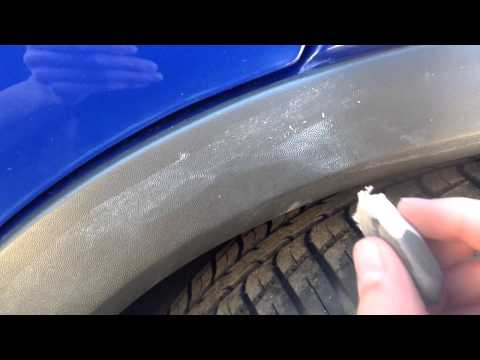 How to remove polish stains on plastic trim!
