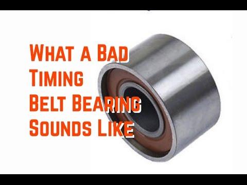What a Bad Timing Belt Bearing Sounds Like -Honda - Toyota - Lexus - Acura - Subaru - Bundys Gar