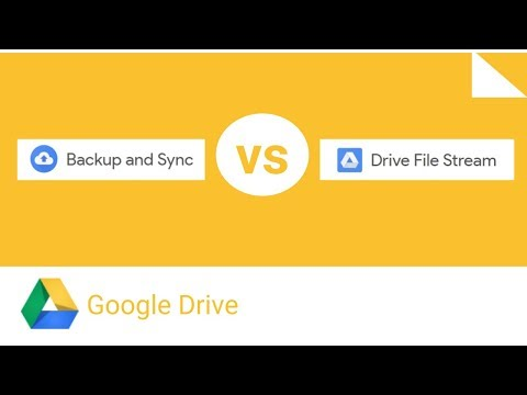 Google Backup & Sync vs Drive File Stream Comparison