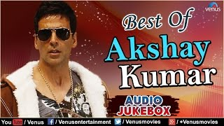 Best Of AKSHAY KUMAR : Evergreen Hindi Songs | Jukebox | Best 90