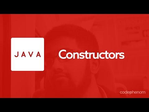 Java Series - 5 - Constructors
