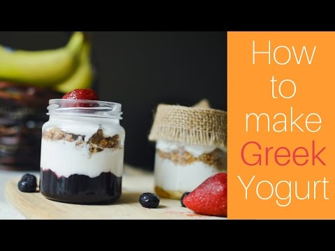 How to Make THICK  HOMEMADE YOGURT | (ONLY 2 Ingredients)