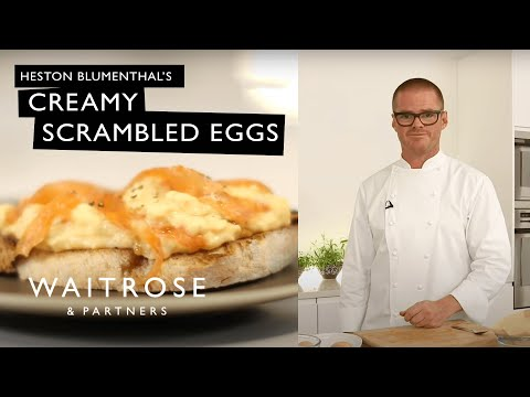 Heston Blumenthal's Beautifully Creamy Scrambled Eggs | Waitrose