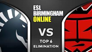 LIQUID vs HellRaisers - TOP 6 ELIMINATION - ESL One Birmingham 2020 Highlights Dota 2