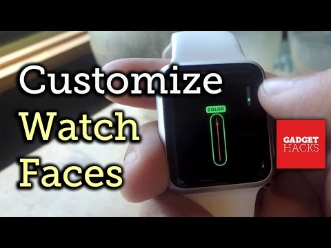Customize The Face On Your Apple Watch How To