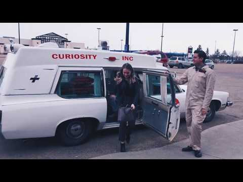 Special Delivery! A birthday surprise in the old Ambulance