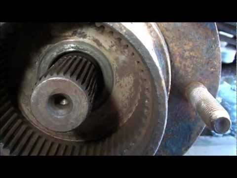 F250 universal joint change