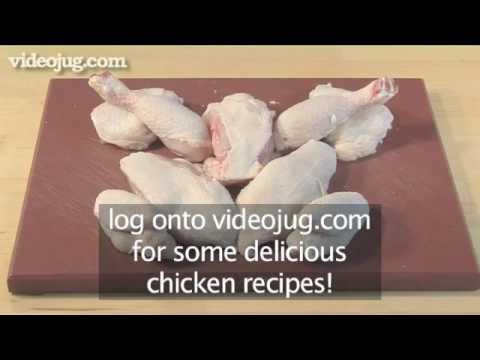 How To Quarter A Chicken