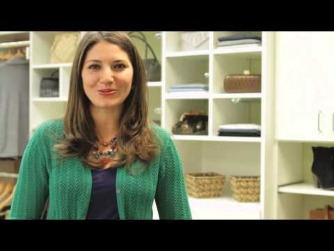 How to Organize Your Clothes on Shelves : Storage & Home Organizing
