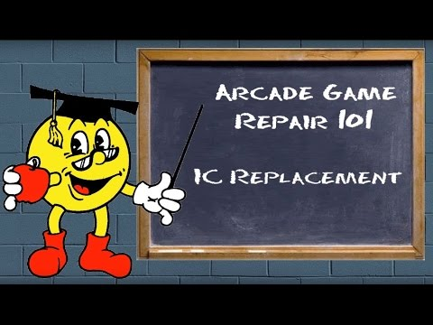 Arcade Game Repair 101 - IC and Socket Replacment