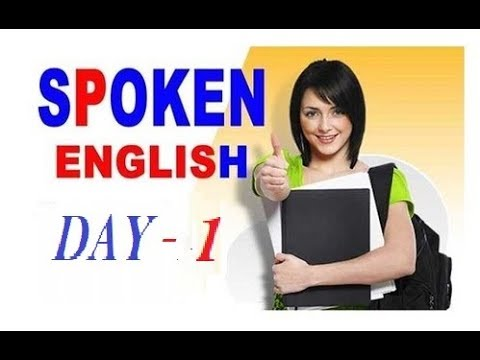 40 Days Spoken English Learning challenge || day 1 √