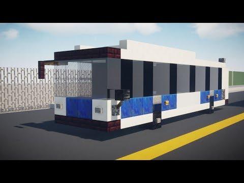 Minecraft NYC MTA New Flyer XD40 Bus Tutorial