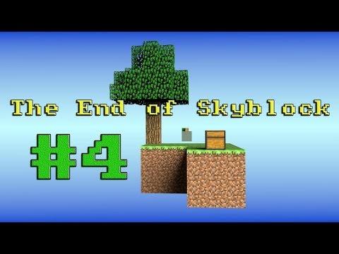 Juguemos: Minecraft | The End of Skyblock 4 | Portal al Nether sin mechero