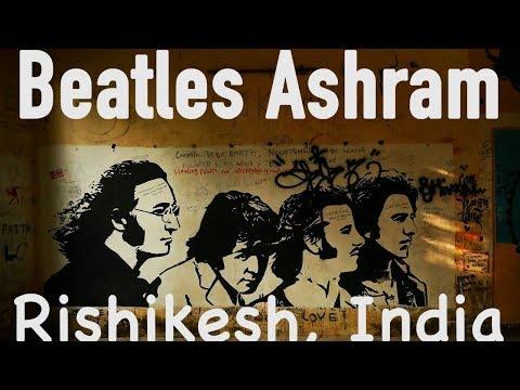 Beatles Ashram in India | Beatles graffiti at Swarg Ashram Rishikesh