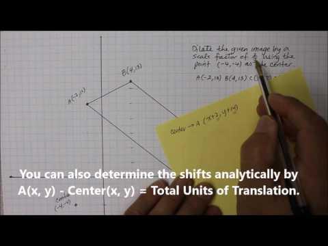 204M8 Part 1  Scale Factor with Non-Origin Center