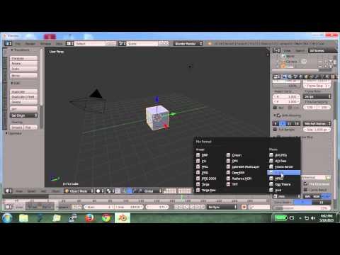 Convert AVI to iMovie format for free using Blender - Baba Awesam