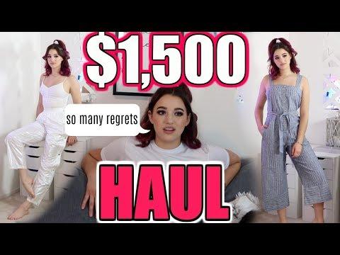 $1,500 TRY ON HAUL.... ASOS, NIKE, DOLLS KILL, etc.