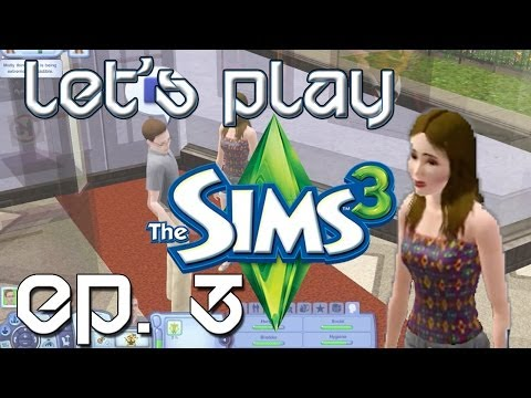 Chris Does The Sims 3 Let's Play - Ep. 3 Getting a Girlfriend