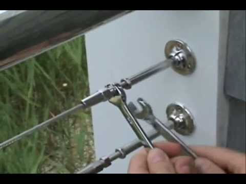 Cable Railing in 3 Easy Steps! from Haywood Builders Supply