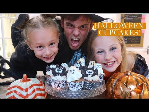 Making Marshmallow Ghosts and Chocolate Bats! | Halloween Ideas | Tom Daley