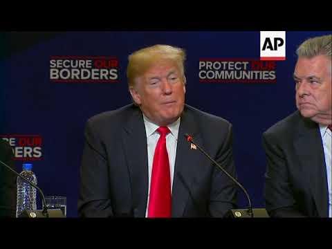 Trump promete detener ayuda a países de pandilleros en EEUU