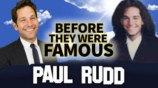 PAUL RUDD | Before They Were Famous | Ant-Man Biography