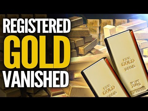 Registered Gold At COMEX Has Practically Vanished - Mike Maloney