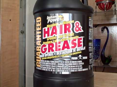 Instant Power Hair & Grease Clog Remover