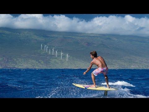 Kai Lenny's Downwind Voyage through the Hawaiian Islands for Environmental Change