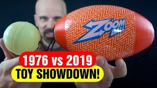 1976 Whizbee vs 2019 Zoom Ball! Toy Showdown!