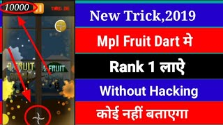 Score 6000 + score in fruit dart | live video | real and genuine