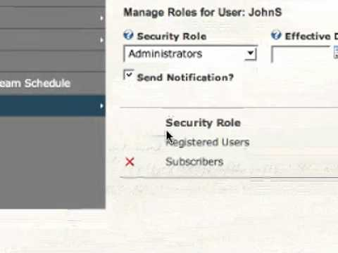Adding User Profiles to your Church Website
