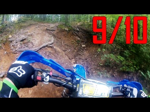 Best dirt bike trails in Michigan, Evart Motorcycle Trail