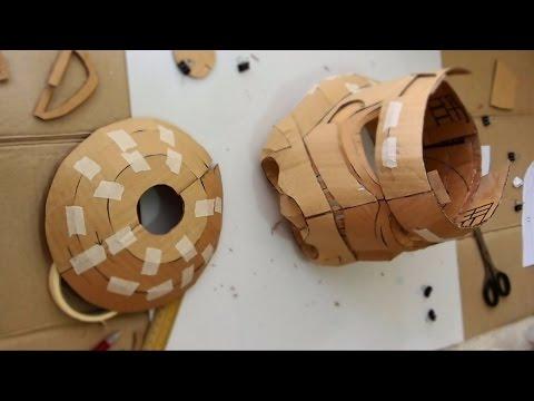 Make Stormtrooper Helmet Part 2 - Assembling // How to