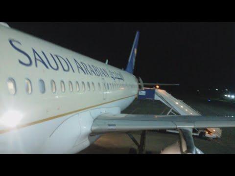 SAUDIA A320 Riyadh to Al Baha Turbulence Experience Review SV1703