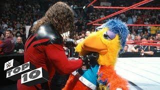 Superstars mauling innocent mascots: WWE Top 10