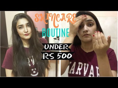 SKINCARE ROUTINE UNDER Rs. 500