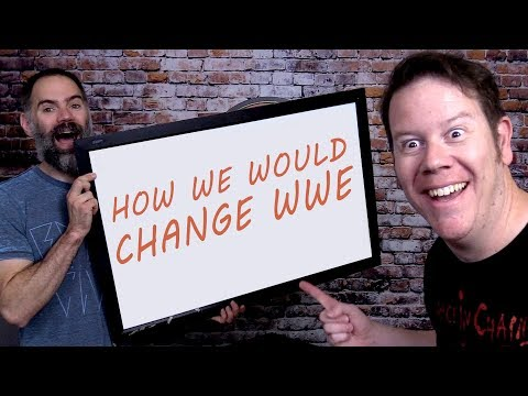 HOW WOULD STEVE AND LARSON CHANGE WWE?  (Going In Raw MAT CHAT Ep. 31)