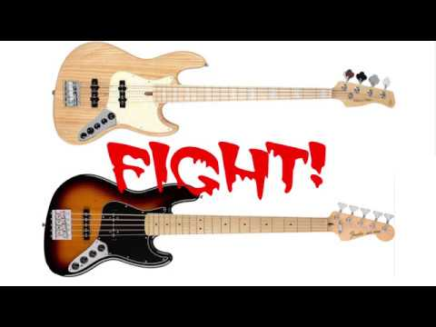 Jazz Bass Shootout Fender MIM vs Sire V7 Marcus Miller PASSIVE tone test