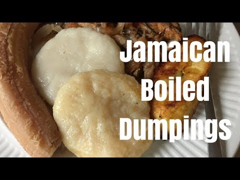 Jamaican Dumplings Two Ways