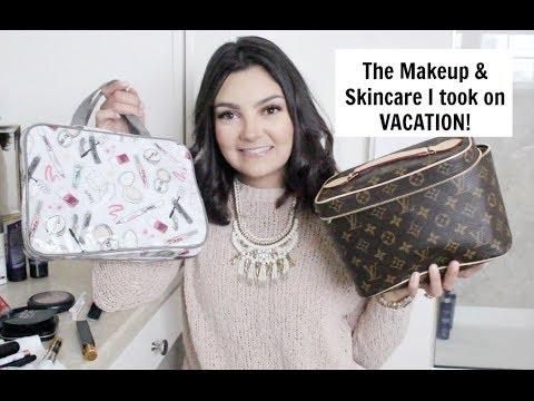 Everything I took to MEXICO | Makeup & Skincare!