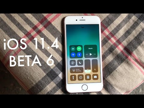 iOS 11.4 BETA 6 On iPHONE 6S! (Review)