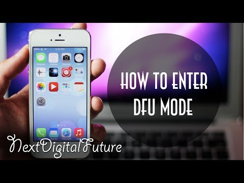 ►How to enter DFU mode on any iOS Device (iPhone 6/6+/5S/5/4S/4, iPad Air/Mini/4/3, iPod Touch)