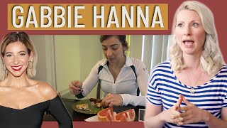 Dietitian Reviews Gabbie Hanna | What I Eat in A Day | How I Lost The Weight